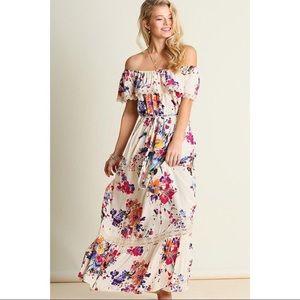 ALTAR'D STATE | off-shoulder floral maxi dress